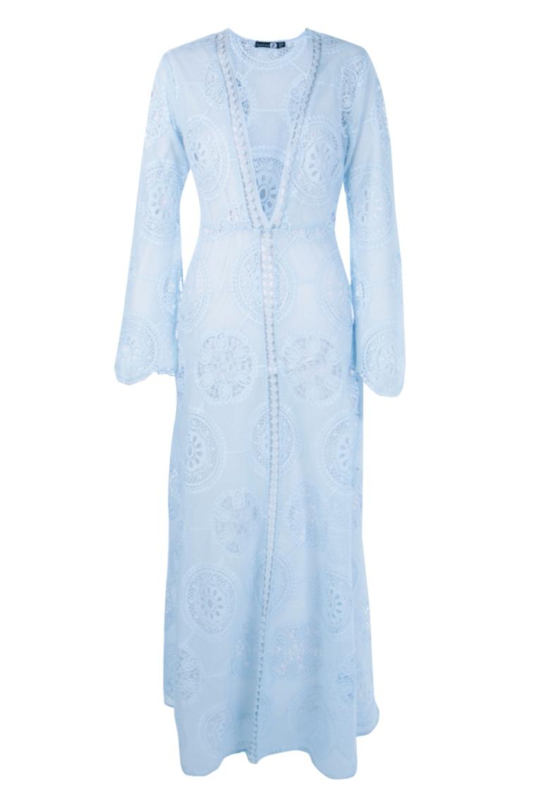 boohoo.com Boutique Aiyla Premium Lace Trim Maxi Dress €46