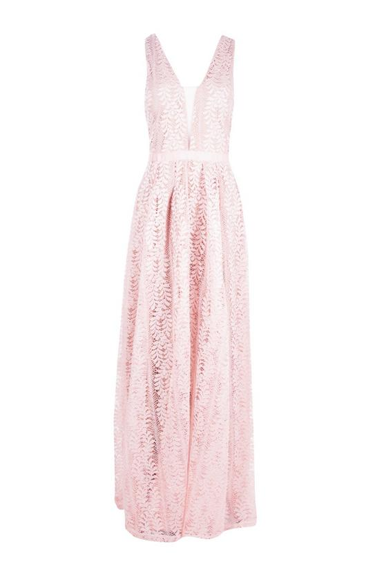 boohoo.com Boutique Ali All Lace Plunge Neck Maxi Dress €61