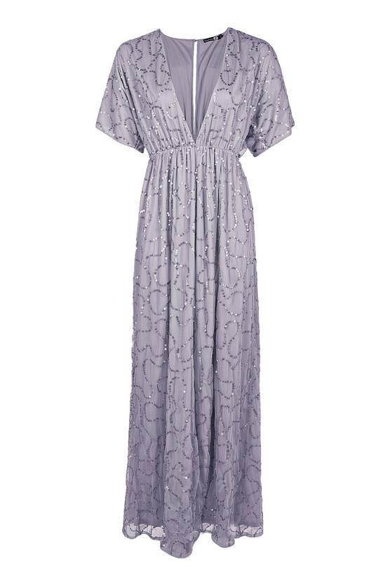 boohoo.com Boutique Tiai All Sequin Tie Back Maxi Dress €61